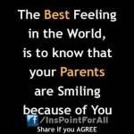Parents' Smile..