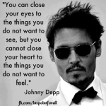 Quote by Johny Depp