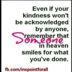 Even if your Kindness